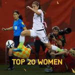 ۲۰ بازیکن برتر بانوان در FIFA 16