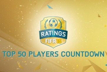 ۵۰ بازیکن برتر FIFA 16