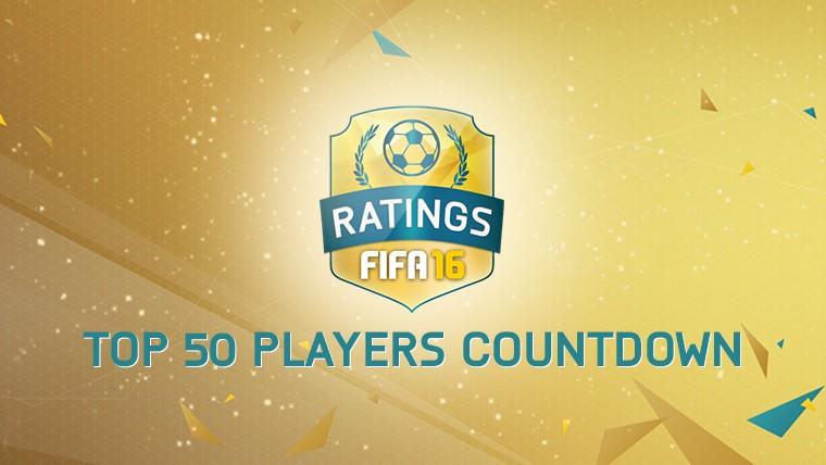 50 بازیکن برتر FIFA 16