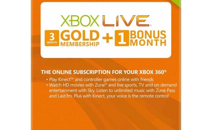 فروش کارت های شبکه لایو با قیمت مناسب – Gift Card Xbox