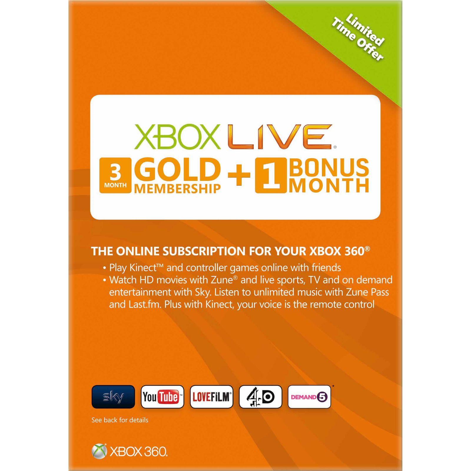 فروش کارت های شبکه لایو با قیمت مناسب - Gift Card Xbox
