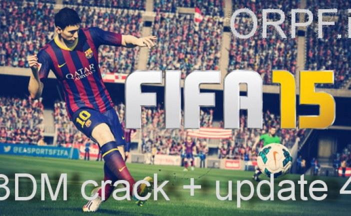دانلود کرک UPDATE 4 + 3DM برای FIFA 15