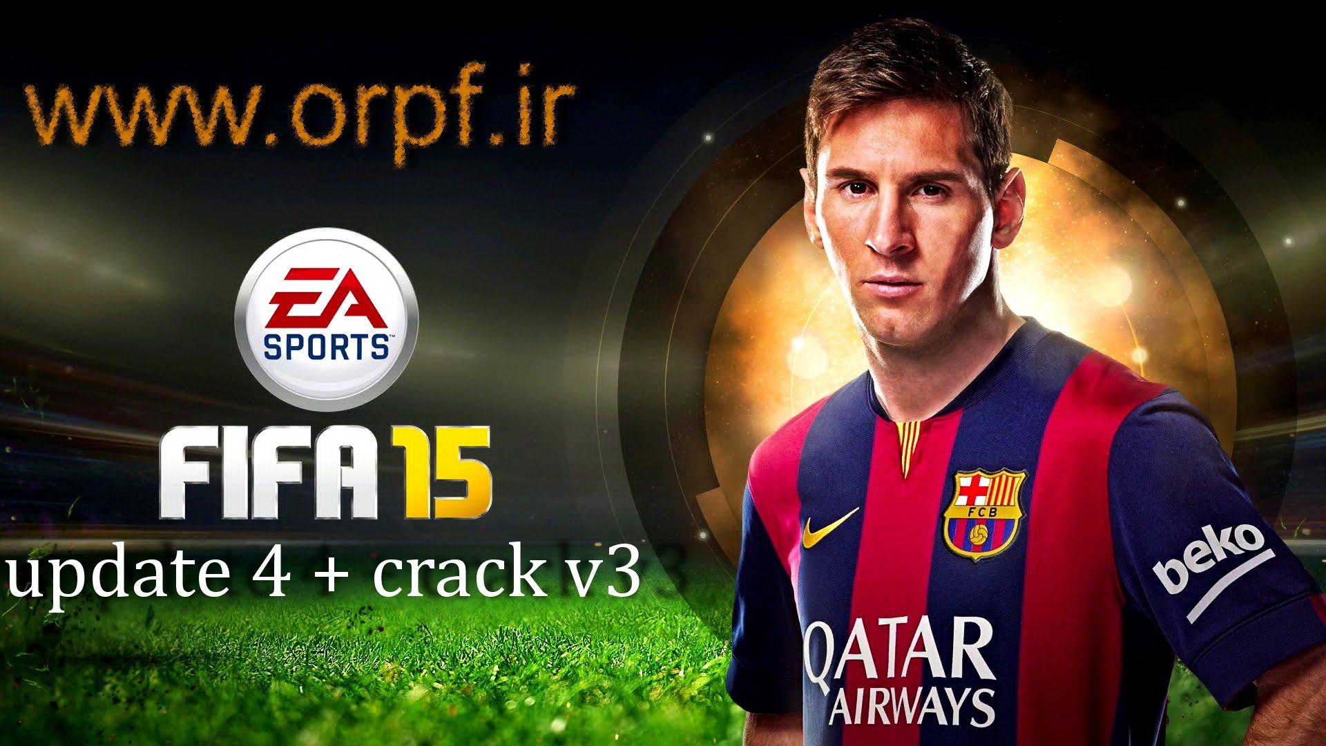 آپدیت 4 + کرک ورژن 3 برای FIFA 15