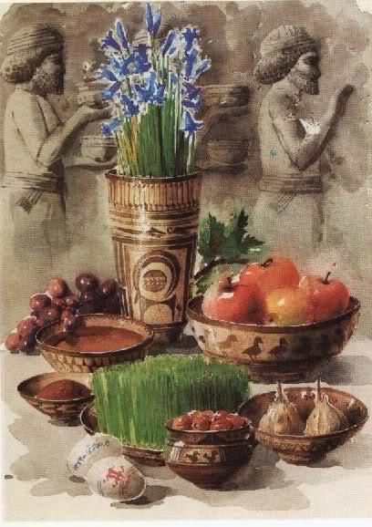 نوروز 1394 - نوروز ۲۷۴۳ ایرانی بر همه شما نازنینان شاد و فرخنده باد